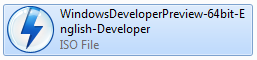 Windows 8 Developer Preview 64bit