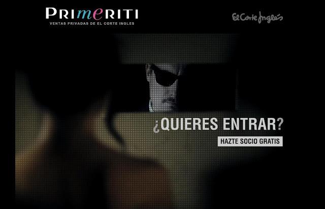 El Corte Inglés lanza PRIMERITI, su propio club de ventas privadas por Internet