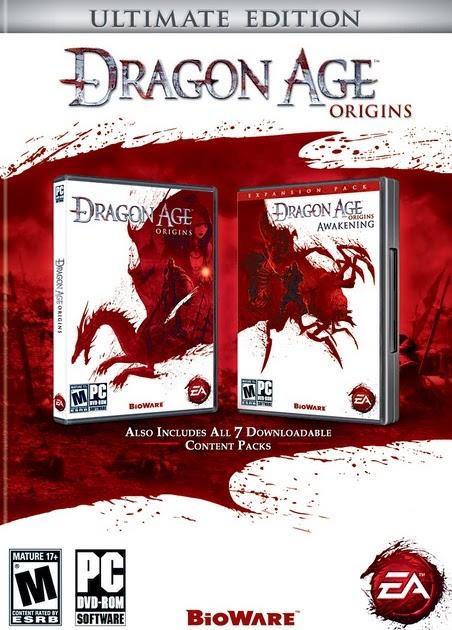 pc games: Dragon Age Origins Ultimate Edition [Mediafire]