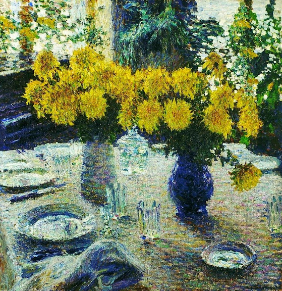 Igor Grabar - Chrysanthemums