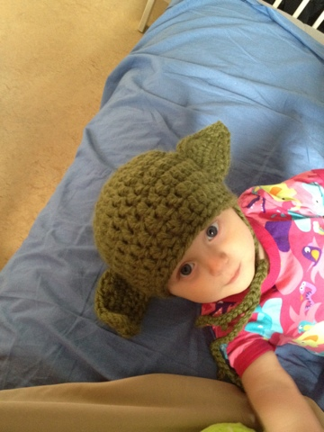 Love Of Worker Bees Warm Yoda Baby Hat
