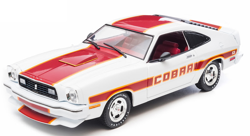 Greenlight 1978 Ford Mustang Cobra II Diecast Model Car 1 18 12866 New