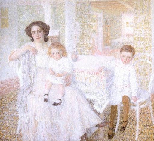 Leon De Smet – White Harmony 1909