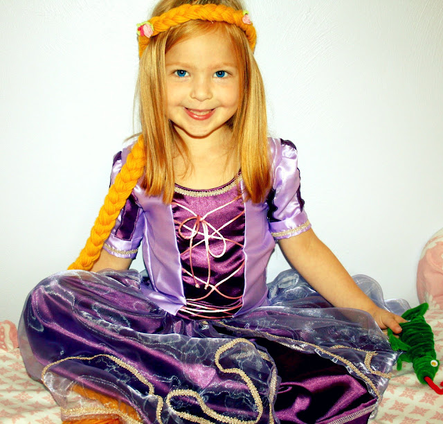 Rapunzel Halloween Costume - The Sewing Rabbit