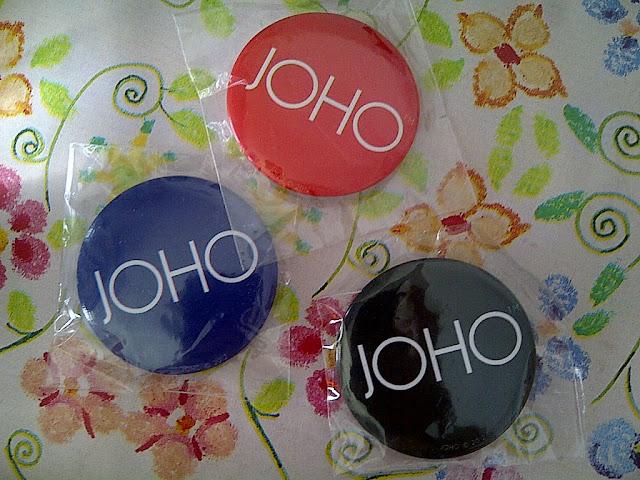 JOHO Buttons