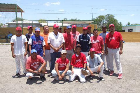 Diablos de El Alamo en la Liga de Beisbol de Salinas Victoria