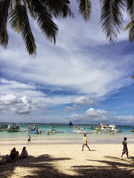 長灘島-白沙灘