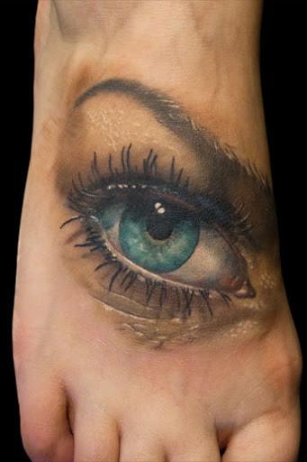 eyes tattoos