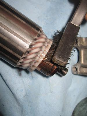 Starter Motor Cleaning Tutorial IMG_9475