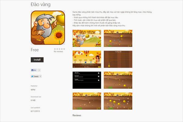 Qplay tham gia vào sân chơi mới Windows Phone 2