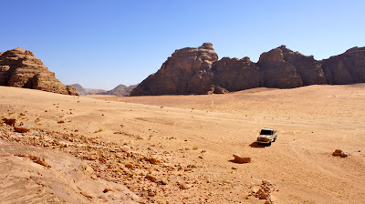 Wadi Rum - Another fascinating desert landscape