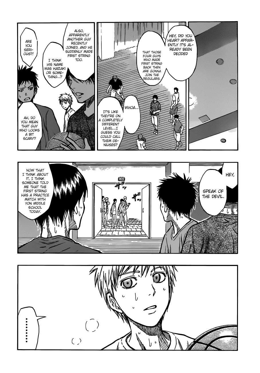Kuroko no Basket Manga Chapter 205 - Image 04