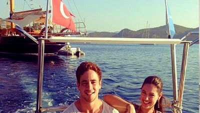 British model Kelly Brook holidaying in Istanbul & Bodrum