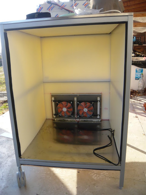 Arduino Controlled Cooling/Heating System for Beer Fermentation
