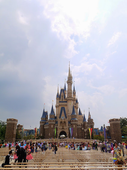 disney magical castle