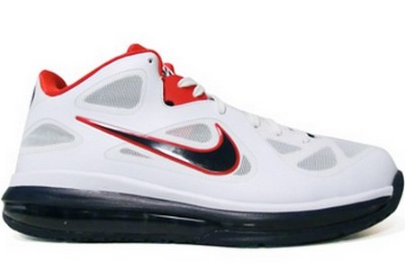 Nike LeBron 9 Low 8220USA Basketball8221 8211 Actual Photos