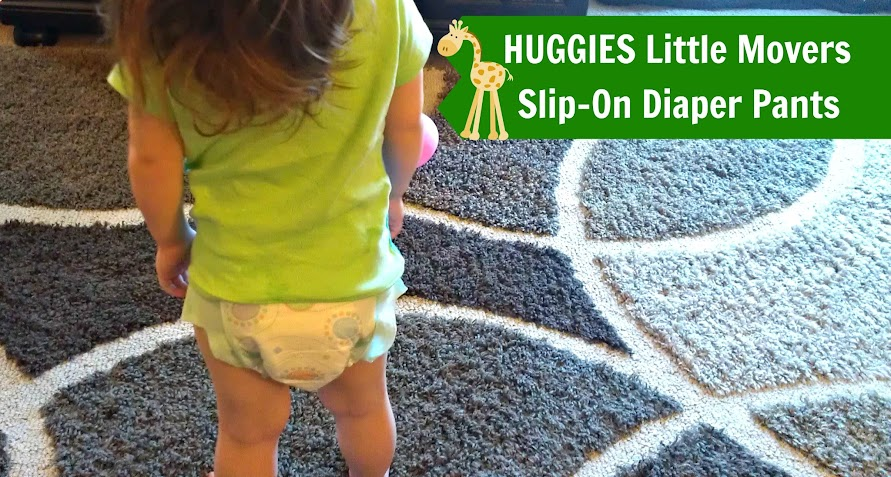 HUGGIES Little Movers Slip-On Diaper Pants For Standing & Walking Babies