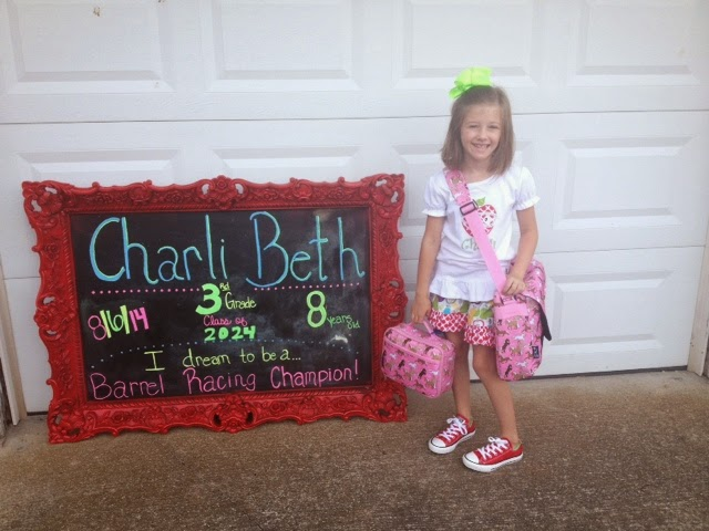 Boots, Bows, & the 5-OH: First Day of School - Third Grade