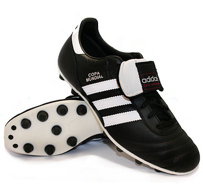 Botas de Crack: Adidas Copa Mundial: las botas de fútbol más clásicas.