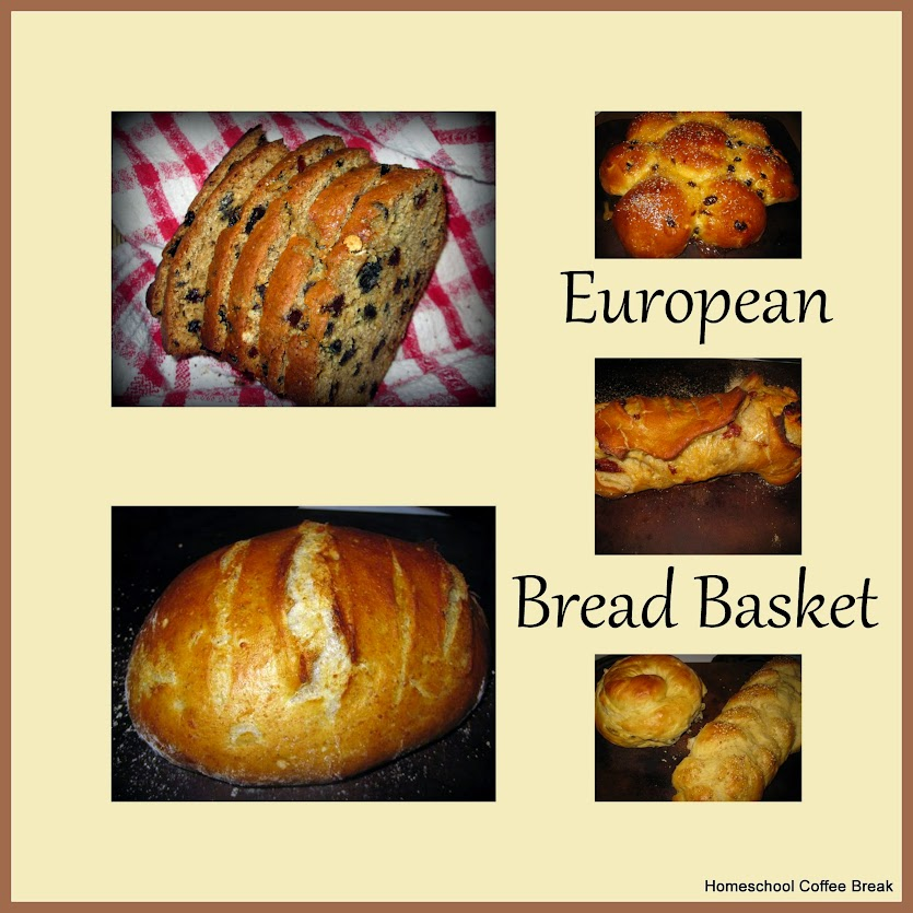Homeschool Coffee Break: European Bread Basket @ http://kympossibleblog.blogspot.com/search/label/European%20Bread%20Basket