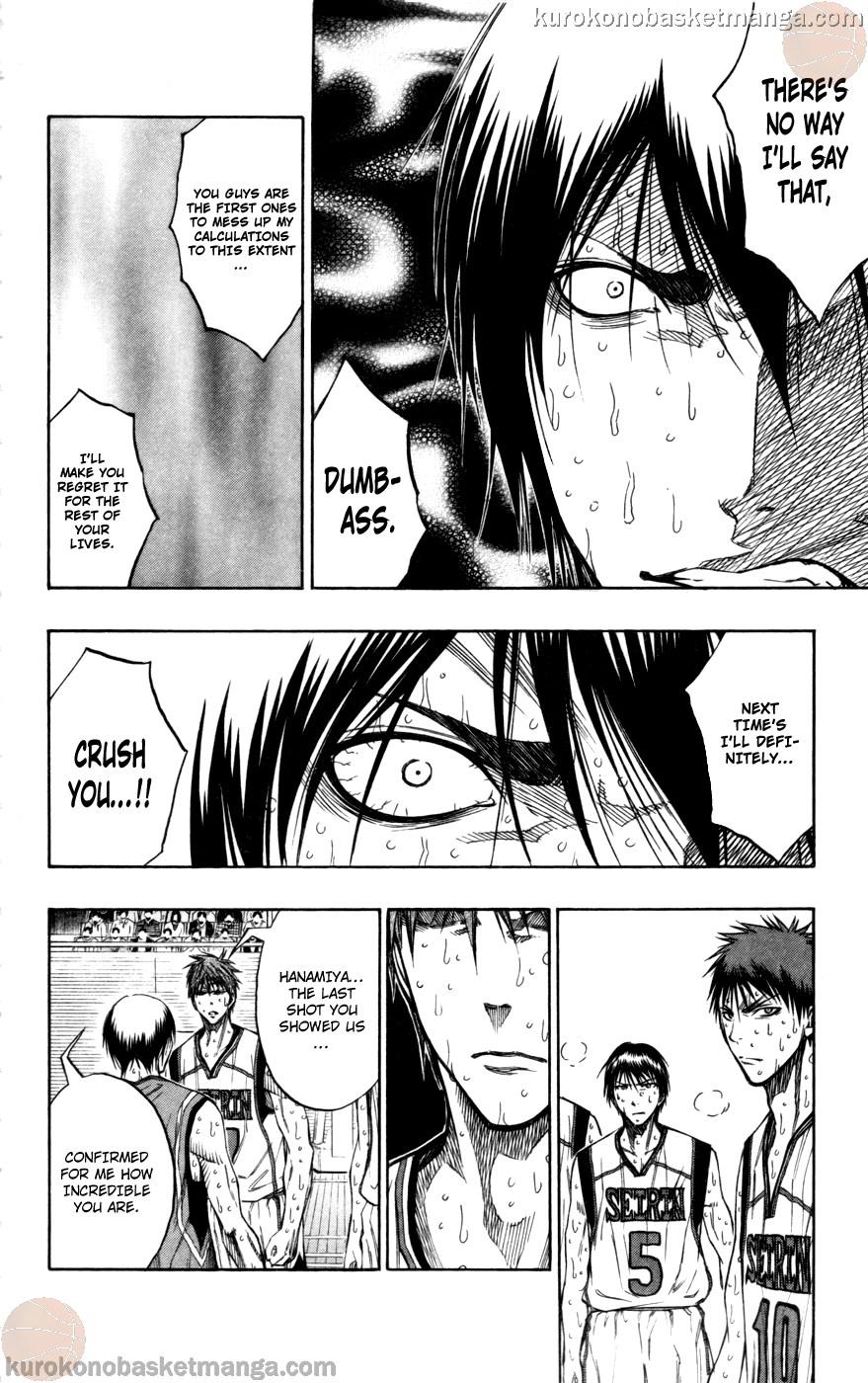 Kuroko no Basket Manga Chapter 108 - Image 06