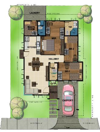 Bambu Estate Aiko Floor Plan