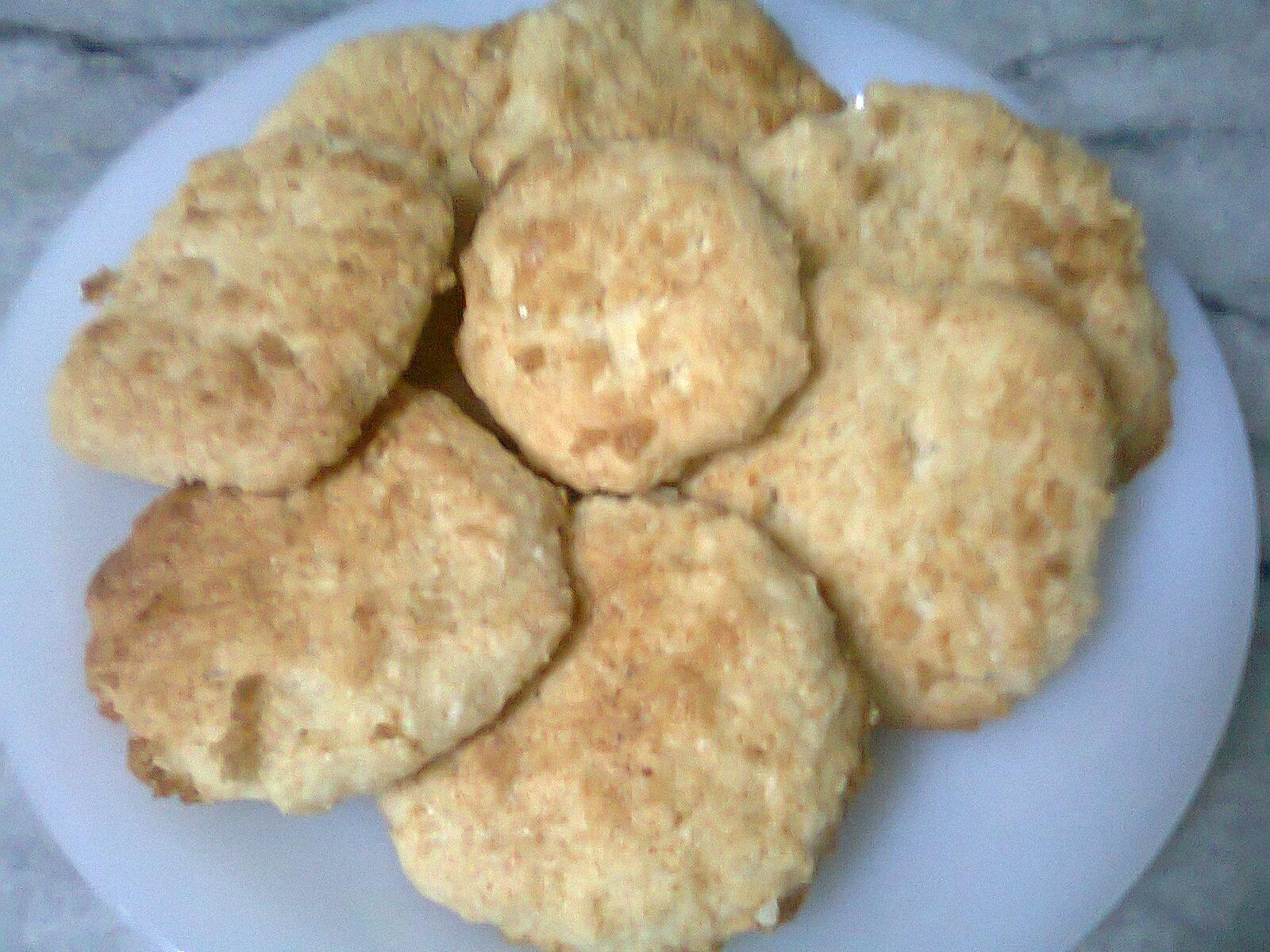 Coconut Cookies | Easy Coconut Cookies Recipe | Coconut Biscuits | You ...