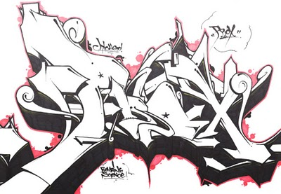 Graffiti Art Design: COllection Sketch graffiti wildstyle by AWSOME