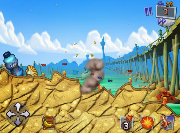 Team17 xác nhận sẽ có Worms 3 cho thiết bị iOS 5