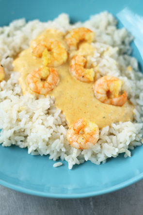shrimp rice curry
