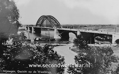 The Waal bridge at Nijmegen
