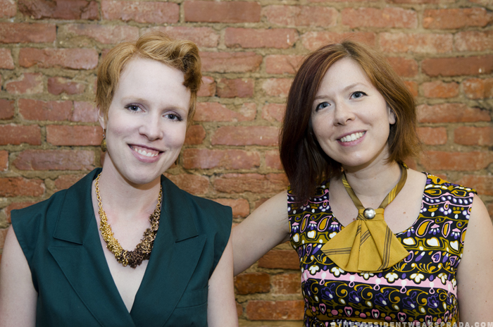 Kristen Swenson and Erin Derge of Ginger Root Design
