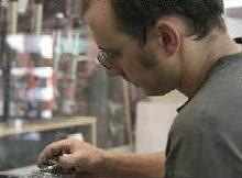 Jordi Perarnau al taller