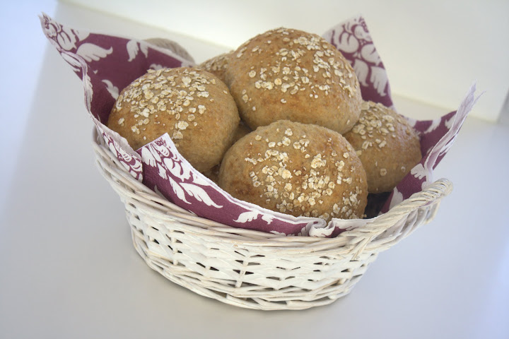 Sandwichboller med havregryn