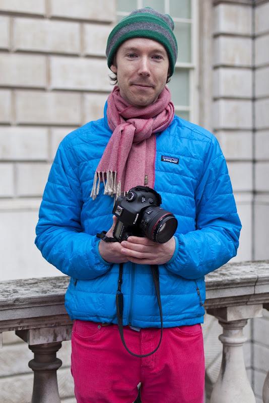 Marcus Dawes at London Fashion Week