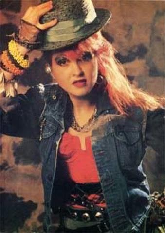 Edwina Lashan Cyndi Lauper Style Icon Misfit Rock Star
