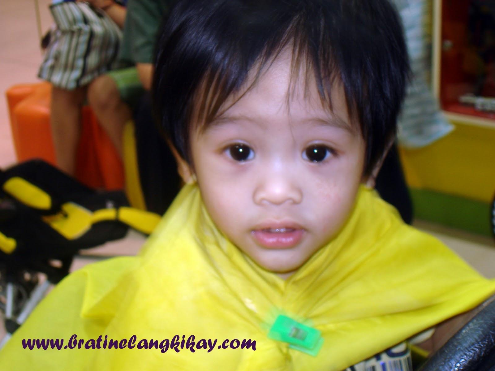 Bratinelang Kikay Enoes First Haircut