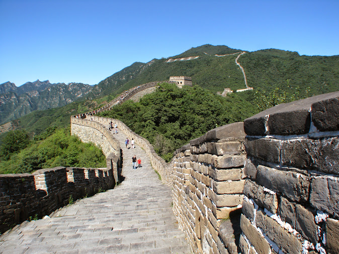 Great Wall from the Mutianyu side (2012)