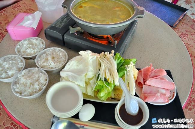 品香牛奶火鍋城南瓜牛奶鍋 + 四碗白飯