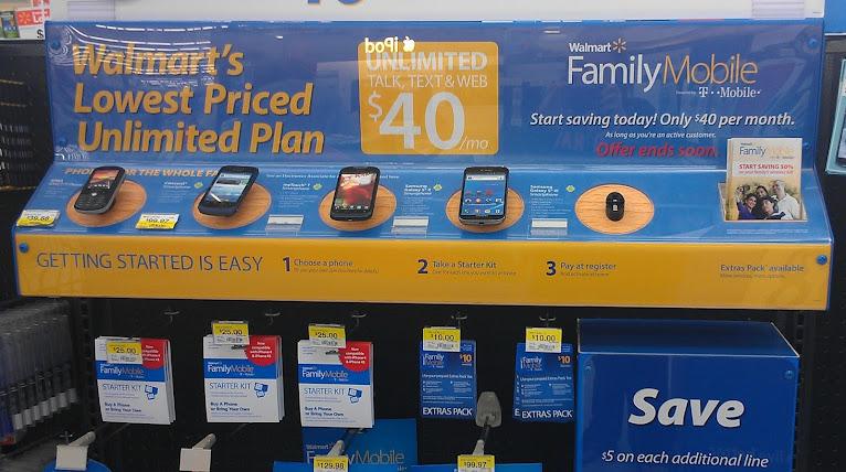 Walmart Family Mobile Unlimited Plans #FamilyMobileSaves