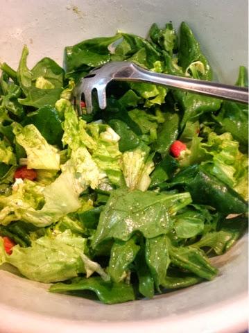 Salada no Blog Dividindo Experiencias
