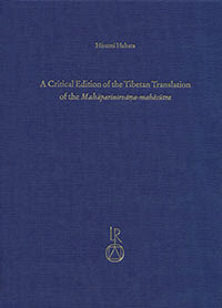 [Habata: Critical Edition of the Tibetan Translation of the Mahāparinirvāṇa-mahāsūtra, 2013]