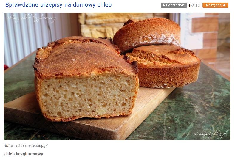 udany chleb bezglutenowy