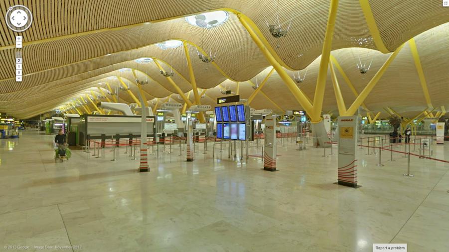 Google StreetView Flughäfen