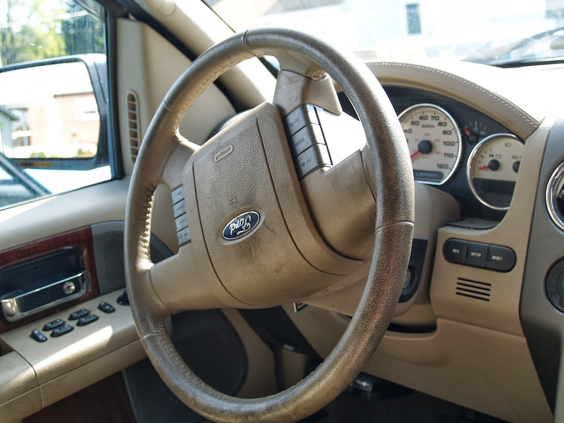 2005 F 150 Lariat Full Interior Detail