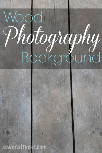 DIY Wood Photography Background by Sew Crafty Cat