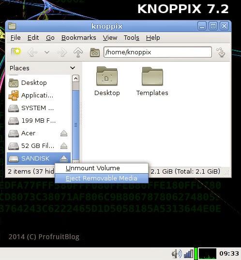 Knoppix 7.2 LXDE