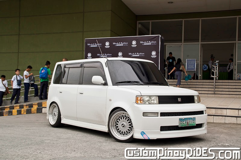 Custom Pinoy Rides Car Photography Manila Philippines Toyota bB in BBS pic2