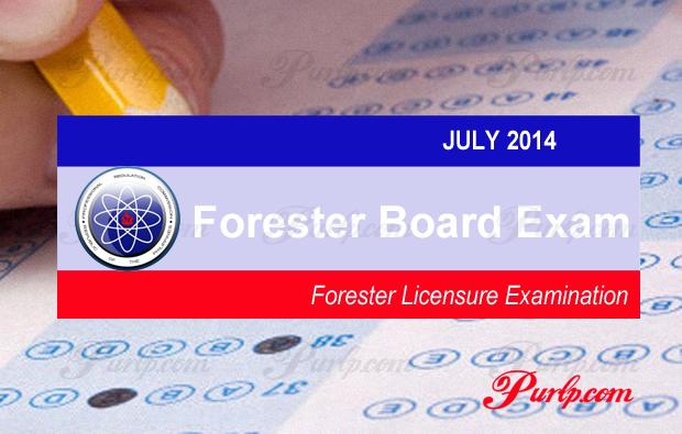 July 2014 Foresters Exam Results