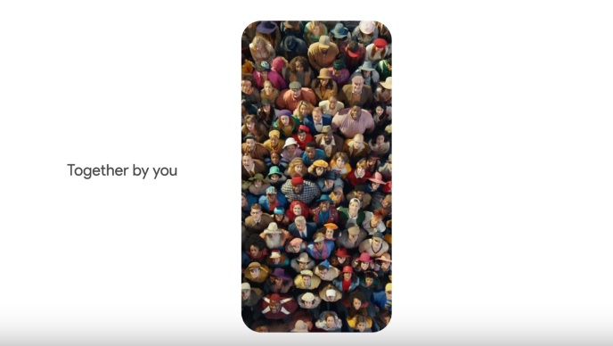 "Pixel Commercial 'Together by You Phone by Google' Featuring The Song ""Just The Two Of Us"""